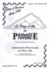 Bulletin 18 – Janvier 1998