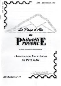 Bulletin  19 – Août 1998