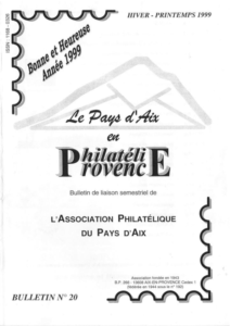 Bulletin 20 – Janvier 1999