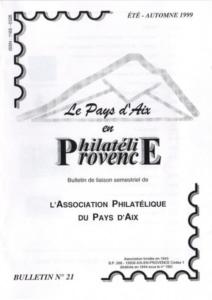 Bulletin 21 – Septembre 1999
