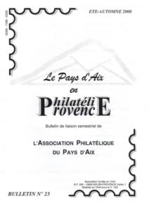 Bulletin 23 – Septembre 2000