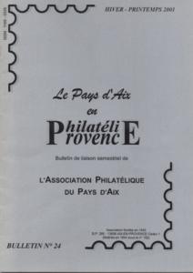 Bulletin  24 –  Janvier 2001
