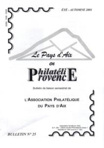 Bulletin  25 –  Août 2001