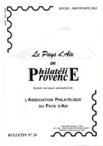 Bulletin 26 – Mars 2002