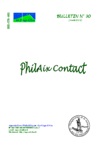 Bulletin 30 – Avril 2006