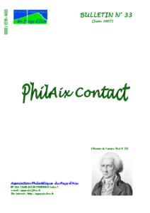 Bulletin 33 – Juin 2007