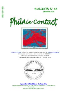 Bulletin 56 – Décembre 2019