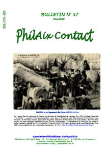 Bulletin 57 – Mai 2020