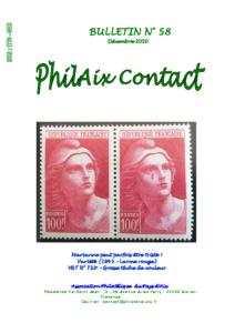 Bulletin 58 – Décembre 2020